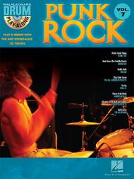 Hal Leonard Drum Play-Along Vol. 7 - Punk Rockk (Book/CD Set)