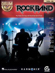 Hal Leonard Drum Play-Along Vol. 20 - Rock Band (Book/CD Set)