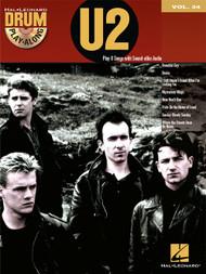 Hal Leonard Drum Play-Along Vol. 34 - U2 (Book/CD Set)