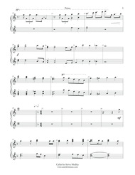 Called to Serve Medley - Piano Duet (1P-4H) Single Sheet