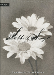 Sabbath Songs Volume 2 - Medium High Vocal Songbook (Book/CD Set)