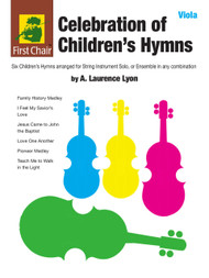 Celebration of Children's Hymns by A. Laurence Lyon for Viola