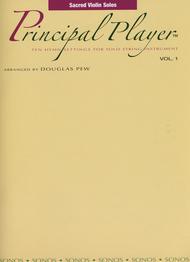 Principal Player, Volume 1 - Sacred Violin Solos by Douglas Pew