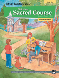 Alfred's Basic Piano Library: All-in-One Sacred Course, Book 2