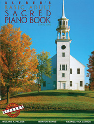 Alfred's Basic Adult Sacred Piano Book, Level 1