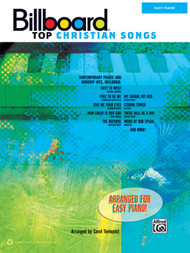 Billboard Top Christian Songs for Easy Piano by Carol Tornquist