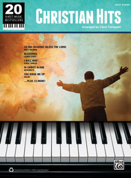 20 Sheet Music Bestsellers: Christian Hits for Easy Piano by Carol Tornquist