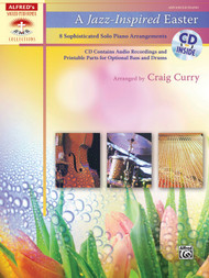 Alfred's Sacred Performer Collections - A Jazz-Inspired Easter (Book/CD Set) for Advanced Piano