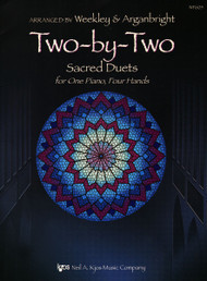 Two-by-Two Sacred Duets for 1 Piano, 4 Hands