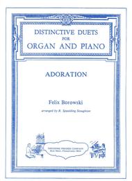 Felix Borowski - Adoration Set of Parts for Organ and Piano Duet