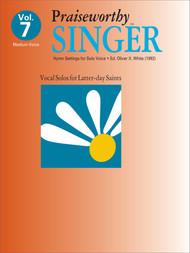 Praiseworth Singer Volume 7: •Hymn Settings for Solo Voice