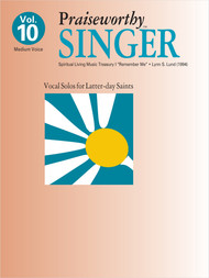 Praiseworth Singer Volume 10: •Spiritual Living Music Treasury I