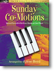 The FJH Sacred Piano Ensemble Library - Sunday Co-Motions: •Sacred Favorites for 4 Hands at 1 Piano for Late Intermediate Piano Duets