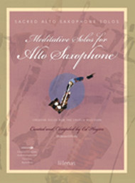 Meditative Solos for Alto Saxophone (Book/CD Set)