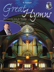 Great Hymns: •Instrumental Solos for Worship (Book/CD Set) for B♭ Trumpet