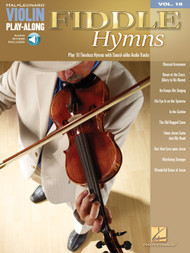 Hal Leonard Violin Play-Along, Volume 18 - Fiddle Hymns (with Audio Access)
