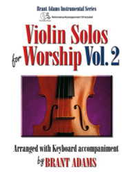 Violin Solos for Worship, Volume 2 (Book/CD Set) for Violin