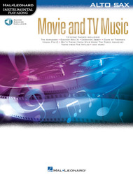 Movie & TV Music - Alto Sax Songbook