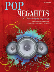 Pop Megahits - Big Note Piano Songbook arranged by Dan Coates