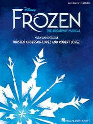 Frozen The Broadway Musical - Easy Piano Songbook