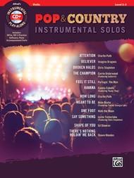 Pop & Country Instrumental Solos - Violin