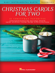 Christmas Carols for Two - Trombones