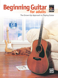 Beginning Guitar for Adults: The Grown-Up Approach to Playing Guitar (Book/CD Set)