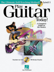 Play Guitar Today! Level 1 (Book/CD Set)