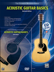 The Ultimate Beginner Series: Acoustic Guitar Basics, Revised Edition (Book/DVD/CD Set)