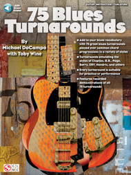 75 Blues Turnarounds for Guitar (Book/CD Set) by Michael DoCampo & Toby Wine