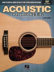 Acoustic Guitar Chords (Book/DVD Set) by Chad Johnson
