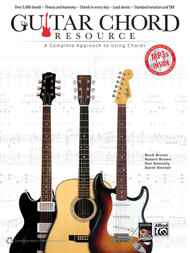Guitar Chord Resource: A Complete Approach to Using Chords (Book/CD Set)