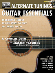 Acoustic Guitar Private Lessons: Alternate Tunings Guitar Essentials (with Audio Access)