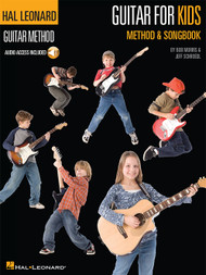 Hal Leonard Guitar Method: Guitar for Kids Method & Songbook (with Audio Access)