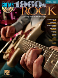 1960s Rock -- Hal Leonard Guitar Play-Along Volume 128 (Book/CD Set)