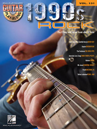1990s Rock -- Hal Leonard Guitar Play-Along Volume 131 (Book/CD Set)