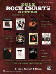 2012 Rock Charts Guitar, Deluxe Annual Edition