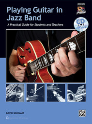 Playing Guitar in Jazz Band (Book/CD Set) by David Sinclair