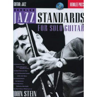 Berklee Jazz Standards for Solo Guitar -- Berklee Press (Book/CD Set) by John Stein