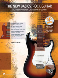The New Basics: Rock Guitar (Book/CD Set) by Joe Bouchard