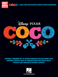 Coco, Music from the Original Motion Picture Soundtrack for Easy Guitar with Notes & Tab