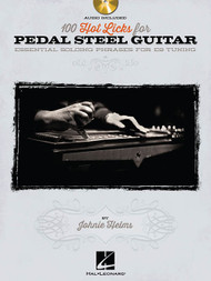 100 Hot Licks for Pedal Steel Guitar (Book/CD Set) by Johnie Helms