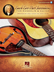 Bach Two-Part Inventions for Mandolin & Guitar (with Audio Access)
