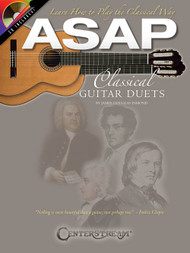 ASAP Classical Guitar Duets (Book/CD Set) by James Douglas Esmond
