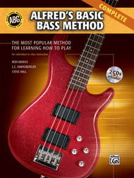 Alfred's Basic Bass Method, Complete (Book/CD Set) by Ron Manus, L.C. Harnsberger, & Steve Hall