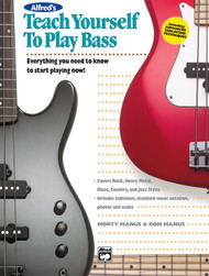 Alfred's Teach Yourself to Play Bass by Morty Manus & Ron Manus