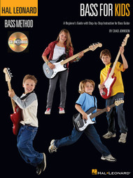 Hal Leonard Bass Method - Bass for Kids (with Audio Access) by Chad Johnson