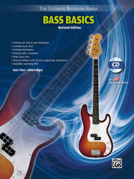 The Ultimate Beginner Series - Bass Basics - Revised Edition (Book/CD Set)