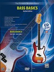 The Ultimate Beginner Series - Bass Basics Mega Pak - Revised Edition (Book/DVD/CD Set)