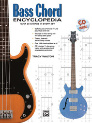 Bass Chord Encyclopedia (Book/CD Set) by Tracy Walton